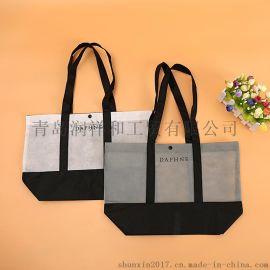 唐山无纺布购物袋提把结实面料透气低碳环保