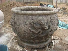 石雕花盆定制 厂家专业雕刻 精致 石雕花盆