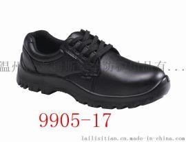 9905-17真皮防砸劳保鞋钢包头鹰兽牌厂家直销安全鞋防滑耐油