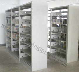 钢制双面书架