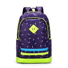 天诺箱包 新款潮包男女通用双肩包 休闲透气学生书包