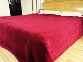 廠家直銷 促銷禮品貴族珊瑚絨毛毯空調毯 午休毯 籤單禮品 會銷禮