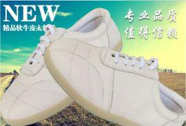 正品牛皮牛筋底武术鞋品牌运动休闲款超轻透气防水太极鞋