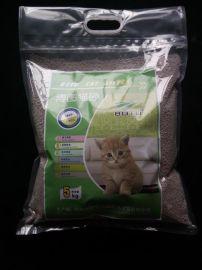球型低粉塵聚團礦物貓砂