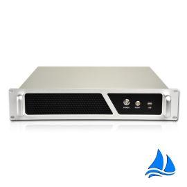 2u工控机箱高档铝面板380深标准PC电源可来图来样定制