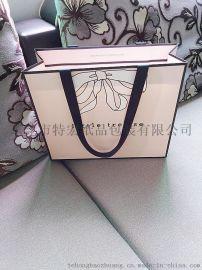 粉色蝴蝶结手提袋