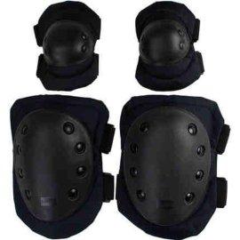 4件套加厚运动护具套装轮滑护膝成人护肘滑冰旱冰溜冰自行车滑板
