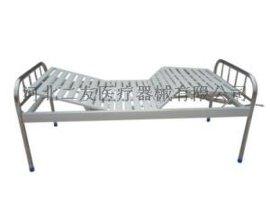 TD11不锈钢床头病床 医用双摇护理床