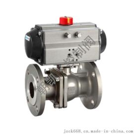 Q641F气动球阀,气动法兰球阀,气动不锈钢球阀,气动球阀厂家