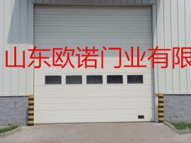 【工業門廠家】供應工業滑升門  工業提升門 廠房垂直分節提升門