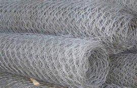 鑫宇热镀拧花网、喷塑六角网