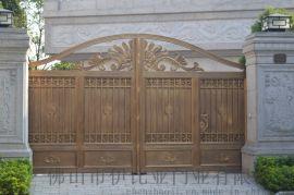 伊比亚A113铝艺庭院门
