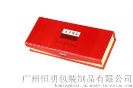 广州恒明包装红色高光油漆木盒