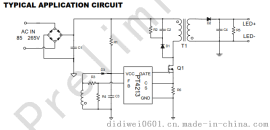 PT4213 高精度原边反馈的LED 恒流控制开关