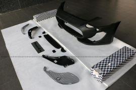 玛莎拉蒂GTS包围改装 玛莎拉蒂GT改装GTS保险杠前脸