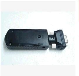 RS232锂电池10米蓝牙低功耗母头适配器 BLE蓝牙串口适配器