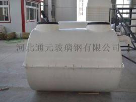 玻璃钢模压化粪池农村改造年化粪池2立方模压化粪池