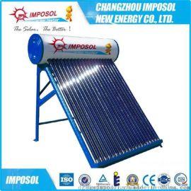 厂家直销一体非承压智能控制电加热真空管太阳能热水器商用