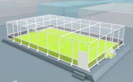 笼式足球场围栏网,箱式足球场围栏,尼龙足球场围网