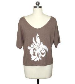 12针 春夏季女装短袖针织衫加工生产厂家 服装来料加工OEM贴牌