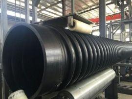 【厂家直销】 HDPE增强缠绕 B型管 PE 克拉管 欢迎采购