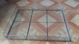 不锈钢网状烘焙托盘