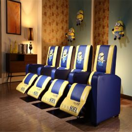 厂家直销多功能真皮影院沙发,VIP电动影院沙发