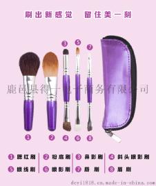 厂家直销5件套化妆刷外贸批发爆款化妆套刷