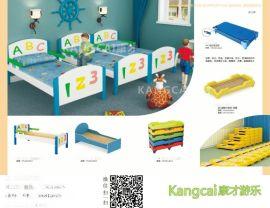 幼儿园专用床 幼儿塑料 木板床.儿童床 幼儿床 学生床幼儿园 实木床