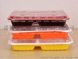 廠家銷售三格餐盒一次性快餐盒一次性保鮮盒一次性飯盒一次性餐盒