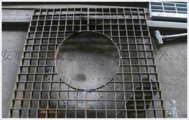 镀锌插接钢格板 半插接钢格板 异形钢格板定做