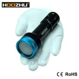 HOOZHU V11 潜水补光灯 最大1000流明 水下100米 强光手电筒 潜水手电 不带支架