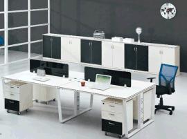 现代办公屏风白色可定制