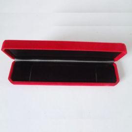 初彩首飾包裝A2-004紅色絨布珠寶手鏈盒