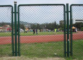 框架球场围栏网,边框篮球场围栏网,一体式球场防护网