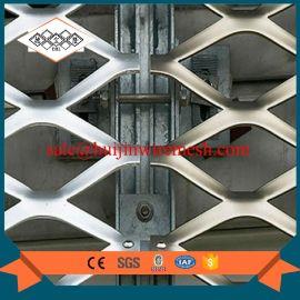 有色金属菱形铝板网  阿克苏喷涂室外金属幕墙网