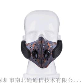运动型蓝牙骨传导面罩耳机