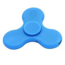 新款带音乐陀螺闪光指尖充电式蓝牙音响 播放旋转指尖陀螺带音箱