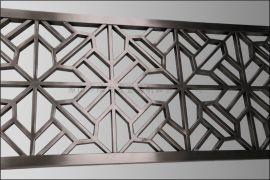 不锈钢花格,不锈钢隔断。金属屏风