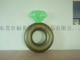 福多盛新款新品PVC充气泳圈 充气钻石泳圈 钻石浮排