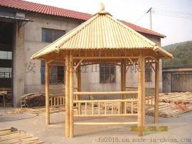 FD-161116专业设计园艺竹凉亭,竹房子