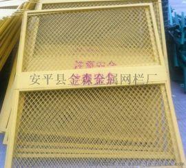 施工电梯门/电梯安全门/井口安全电梯门