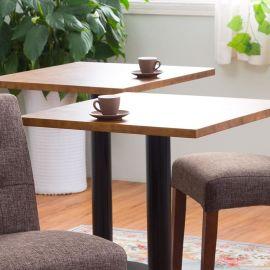 簡約餐桌咖啡桌西餐桌實木方桌小圓桌 小戶型餐廳飯桌奶茶店桌子