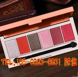 六色眼影盘oem/专业彩妆加工厂