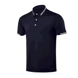 高尔夫短袖T恤 男士速干排汗运动休闲球服 定制高尔夫服装