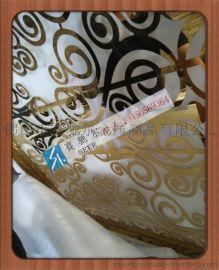 钛金欧式不锈钢花纹屏风
