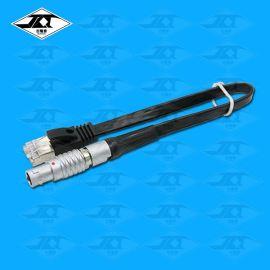 推拉自鎖航空插頭連接器轉RS232 USB DB9 RJ45串口網線生產廠家定制
