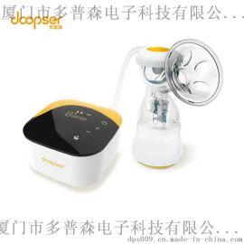 【可做OEM代工】多普森单边电动吸奶器 自动静音集乳触控 挤奶器 产妇简易吸乳器DPS-8002