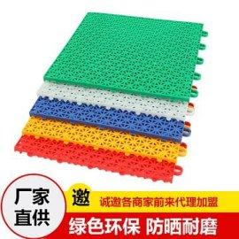 衡水地板厂家批发小米格图案幼儿园专用拼装地板,多色可选