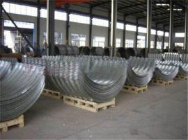 公路专用钢波纹管涵生产厂家直销,焊接整装波纹涵管